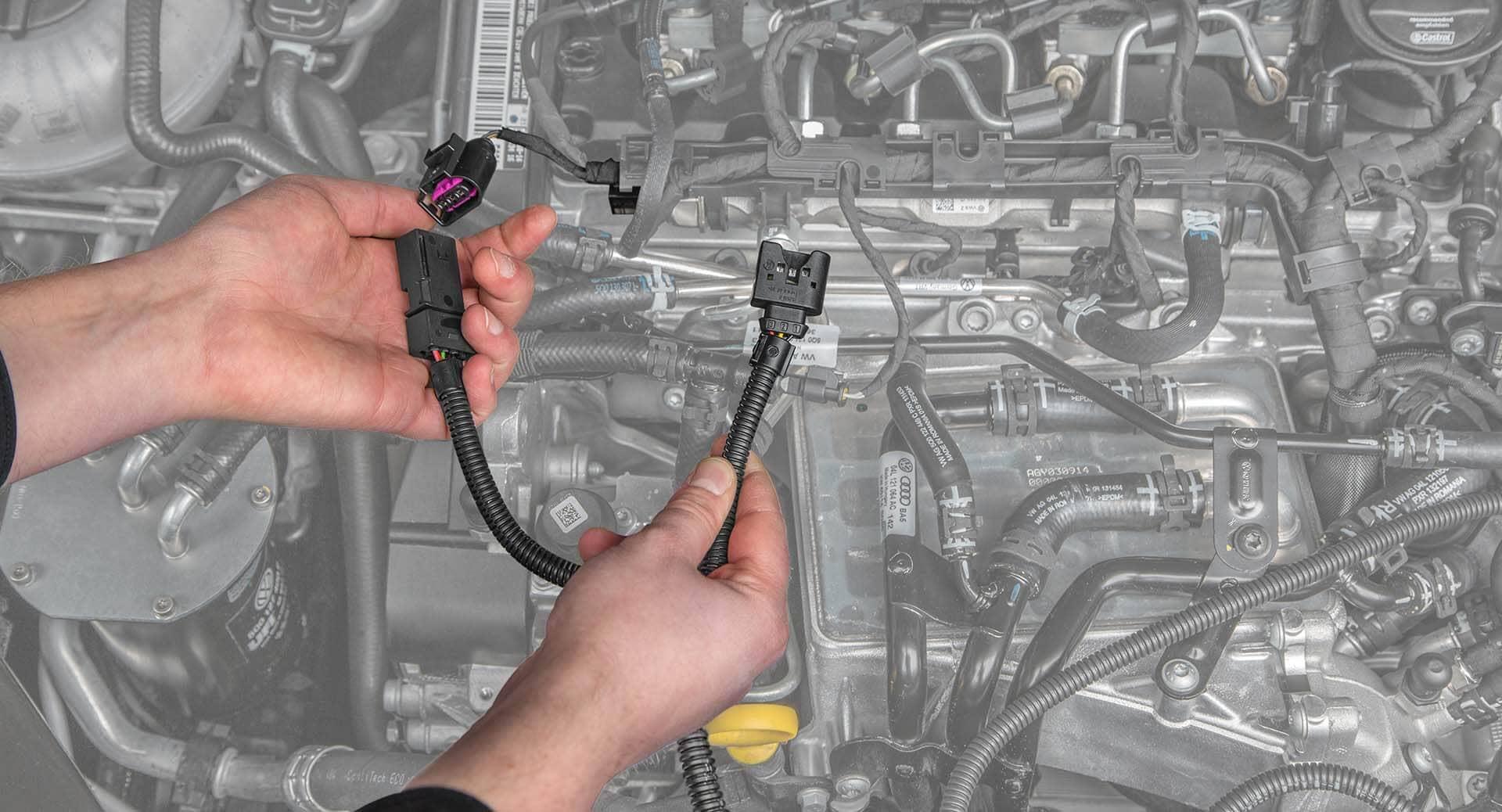 Chiptuning Einbau Alles Zum Ihres Racechip Ford 1210 Wiring Common Rail Sensor A